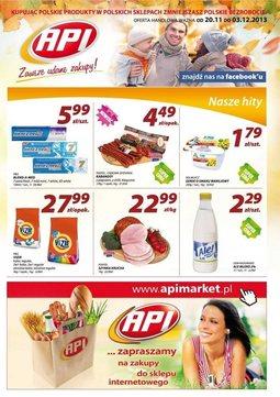 Gazetka promocyjna Api Market, ważna od 20.11.2013 do 03.12.2013.