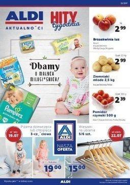 Gazetka promocyjna Aldi, ważna od 19.07.2017 do 25.07.2017.