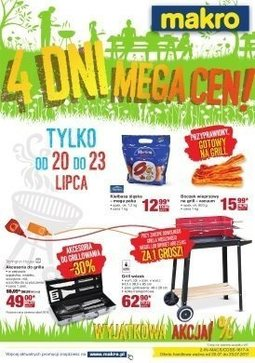 Gazetka promocyjna Makro Cash&Carry, ważna od 20.07.2017 do 23.07.2017.