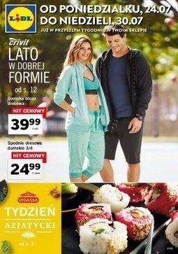 Gazetka promocyjna Lidl, ważna od 24.07.2017 do 30.07.2017.