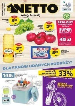 Gazetka promocyjna Netto, ważna od 24.07.2017 do 30.07.2017.