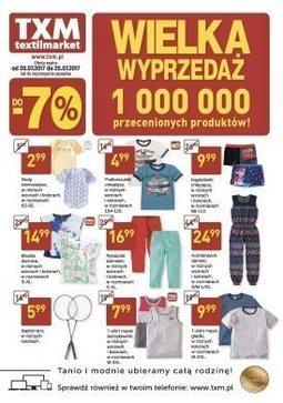 Gazetka promocyjna Textil Market, ważna od 20.07.2017 do 25.07.2017.