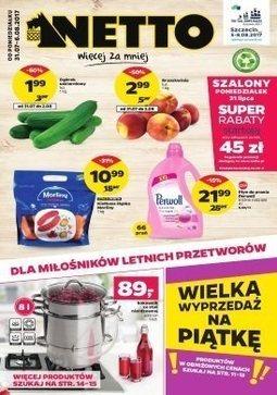 Gazetka promocyjna Netto, ważna od 31.07.2017 do 06.08.2017.