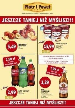 Gazetka promocyjna Piotr i Paweł, ważna od 01.08.2017 do 06.08.2017.