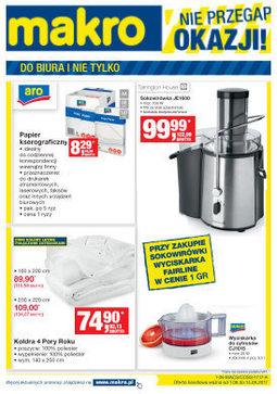 Gazetka promocyjna Makro Cash&Carry, ważna od 01.08.2017 do 14.08.2017.