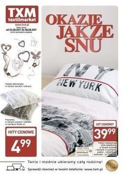 Gazetka promocyjna Textil Market, ważna od 03.08.2017 do 08.08.2017.