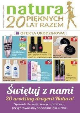 Gazetka promocyjna Drogerie Natura, ważna od 03.08.2017 do 16.08.2017.