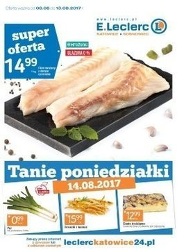 Gazetka promocyjna E.Leclerc, ważna od 08.08.2017 do 13.08.2017.