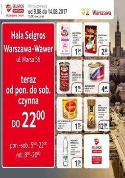 Gazetka promocyjna Selgros Cash&Carry, ważna od 08.08.2017 do 14.08.2017.
