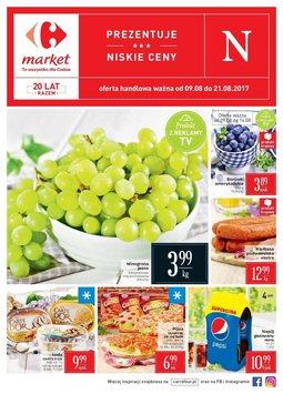 Gazetka promocyjna Carrefour, ważna od 09.08.2017 do 21.08.2017.