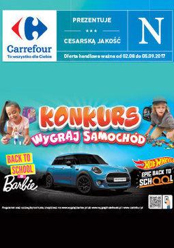 Gazetka promocyjna Carrefour, ważna od 02.08.2017 do 05.09.2017.