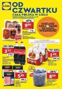 Gazetka promocyjna Lidl, ważna od 10.08.2017 do 13.08.2017.