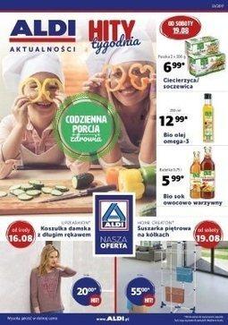 Gazetka promocyjna Aldi, ważna od 16.08.2017 do 22.08.2017.