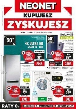Gazetka promocyjna Neonet, ważna od 10.08.2017 do 15.08.2017.