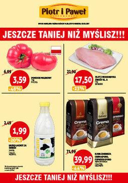 Gazetka promocyjna Piotr i Paweł, ważna od 16.08.2017 do 20.08.2017.