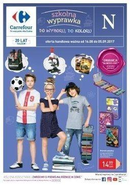 Gazetka promocyjna Carrefour, ważna od 16.08.2017 do 05.09.2017.