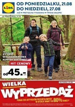 Gazetka promocyjna Lidl, ważna od 21.08.2017 do 27.08.2017.