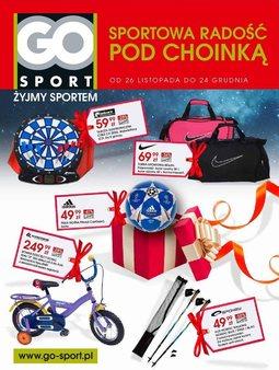 Gazetka promocyjna GO Sport, ważna od 26.11.2013 do 24.12.2013.