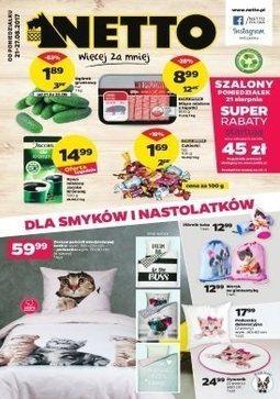 Gazetka promocyjna Netto, ważna od 21.08.2017 do 27.08.2017.