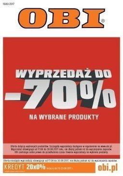 Gazetka promocyjna Obi, ważna od 17.08.2017 do 29.08.2017.