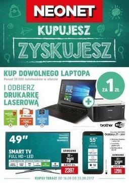 Gazetka promocyjna Neonet, ważna od 16.08.2017 do 23.08.2017.
