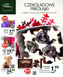 Gazetka promocyjna Alma Delikatesy, ważna od 28.11.2013 do 11.12.2013.
