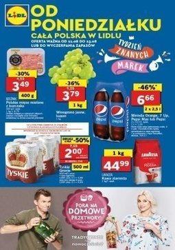 Gazetka promocyjna Lidl, ważna od 21.08.2017 do 23.08.2017.