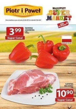 Gazetka promocyjna Piotr i Paweł, ważna od 22.08.2017 do 27.08.2017.