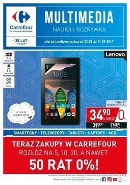 Gazetka promocyjna Carrefour, ważna od 23.08.2017 do 11.09.2017.