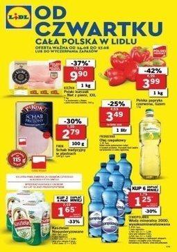Gazetka promocyjna Lidl, ważna od 24.08.2017 do 27.08.2017.