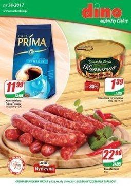 Gazetka promocyjna Dino, ważna od 23.08.2017 do 29.08.2017.