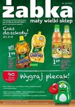 Gazetka promocyjna Żabka, ważna od 23.08.2017 do 05.09.2017.