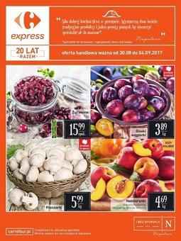 Gazetka promocyjna Carrefour, ważna od 30.08.2017 do 04.09.2017.