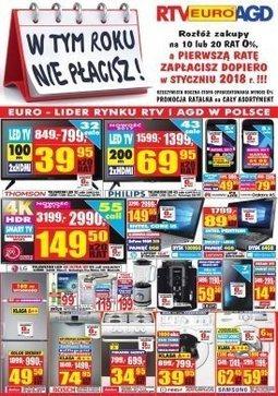 Gazetka promocyjna RTV Euro AGD, ważna od 01.09.2017 do 02.10.2017.