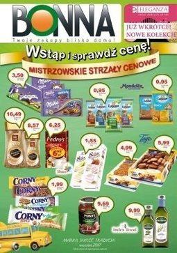 Gazetka promocyjna Bonna, ważna od 01.09.2017 do 30.09.2017.