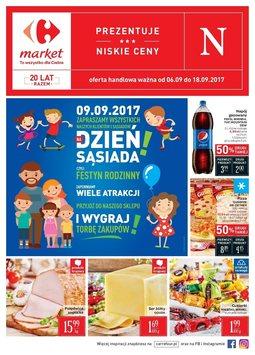 Gazetka promocyjna Carrefour, ważna od 06.09.2017 do 18.09.2017.