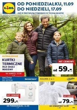 Gazetka promocyjna Lidl, ważna od 11.09.2017 do 17.09.2017.