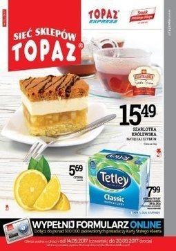Gazetka promocyjna Topaz, ważna od 14.09.2017 do 20.09.2017.