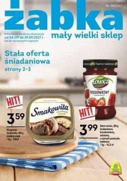 Gazetka promocyjna Żabka, ważna od 06.09.2017 do 19.09.2017.