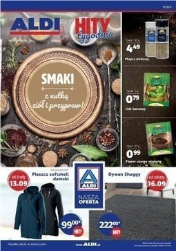 Gazetka promocyjna Aldi, ważna od 13.09.2017 do 19.09.2017.
