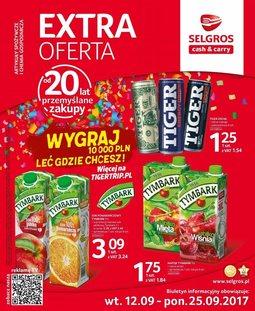Gazetka promocyjna Selgros Cash&Carry, ważna od 12.09.2017 do 25.09.2017.