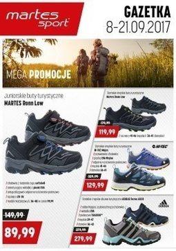Gazetka promocyjna Martes Sport, ważna od 08.09.2017 do 21.09.2017.