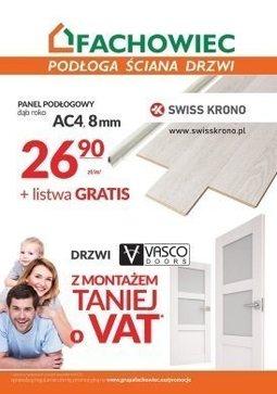 Gazetka promocyjna Fachowiec, ważna od 31.07.2017 do 30.09.2017.