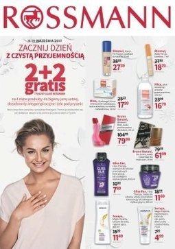 Gazetka promocyjna Rossmann, ważna od 09.09.2017 do 19.09.2017.