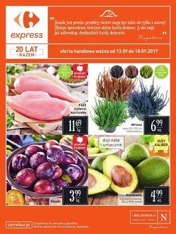 Gazetka promocyjna Carrefour, ważna od 13.09.2017 do 18.09.2017.