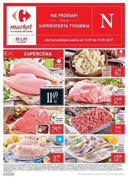 Gazetka promocyjna Carrefour, ważna od 13.09.2017 do 19.09.2017.