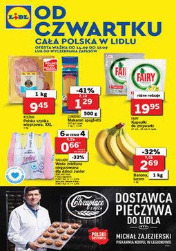 Gazetka promocyjna Lidl, ważna od 14.09.2017 do 17.09.2017.
