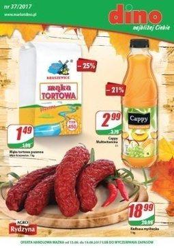 Gazetka promocyjna Dino, ważna od 13.09.2017 do 19.09.2017.