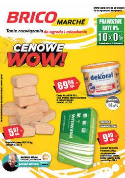 Gazetka promocyjna Bricomarché, ważna od 13.09.2017 do 24.09.2017.