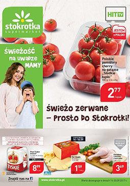 Gazetka promocyjna Stokrotka, ważna od 14.09.2017 do 20.09.2017.